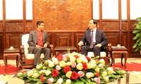 Presidente vietnamita recibe a embajador de Timor Leste