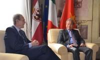 Vietnam e Italia robustecen cooperación entre localidades