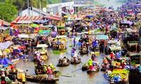 Colores de los mercados vietnamitas