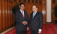 Vietnam busca fortalecer la cooperación multisectorial con Camboya