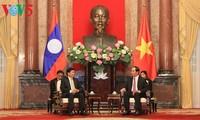 Presidente vietnamita se reúne con premier laosiano
