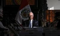 Baja nivel de aprobación de presidente peruano