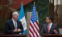 Secretario de Seguridad Nacional de Estados Unidos en gira por Guatemala y México