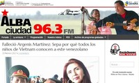 Recuerdan mérito de amigo venezolano identificado con la revolución vietnamita