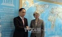 Unesco reconoce aportes activos de Vietnam a su desarrollo