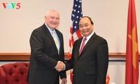 Prosiguen las actividades del primer ministro vietnamita en Estados Unidos