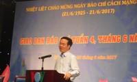 Rinden tributo a la prensa vietnamita por su contribución a la causa revolucionaria