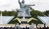 Conmemoran los 72 años del desastre nuclear de Nagasaki, Japón
