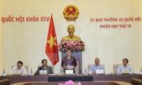 Inician décimo tercera reunión del Comité Permanente de la Asamblea Nacional de Vietnam