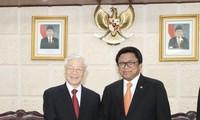 Medios de comunicación de Indonesia resaltan las relaciones cercanas de su país con Vietnam