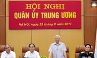 Revisan el trabajo de la Comisión Militar Central de Vietnam