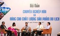 Urge elevar la profesionalidad del sector turístico de Vietnam