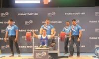 Más medallas de oro para los deportistas vietnamitas en Juegos Paralímpicos de la Asean
