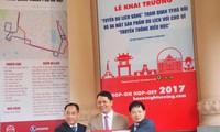 Inauguran la ruta turística de oro en Hanói