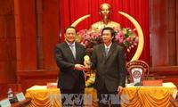 Viceprimer ministro de Laos continúa su gira por el Sur de Vietnam