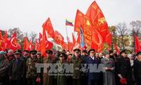 Siguen celebrando el centenario aniversario de la Revolución de Octubre en Rusia