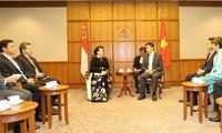 Vietnam y Singapur por consolidar su asociación estratégica