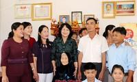 Vice presidenta vietnamita visita provincia de Binh Phuoc