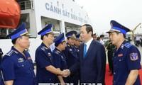 Vietnam pone mucho interés en fomentar las Fuerzas de Guardia Costera