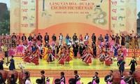 Festival cultural de etnias vietnamitas en primavera: una vivencia enriquecedora