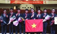 Vietnam gana cuatro medallas de oro en Olimpiada Asiática de Física 2018