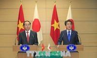 Culmina la visita de Estado del presidente vietnamita a Japón