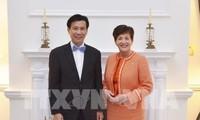 Vietnam y Nueva Zelanda ratifican voluntad de aumentar el comercio bilateral