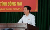 Prosiguen contactos entre parlamentarios y electores en Vietnam