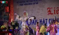 Enaltecen la belleza del canto religioso Chau Van en la comunidad vietnamita