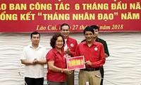 Cruz Roja de Vietnam sigue ayudando a las personas afectadas por inundaciones