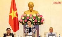 Inauguran la XXV reunión del Comité Permanente del Parlamento vietnamita