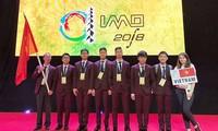 Ganan medallas todos los jóvenes vietnamitas participantes en Olimpiada Internacional de Matemáticas