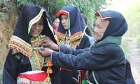 El grupo étnico Dao Lo Gang en la provincia de Thai Nguyen