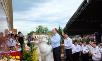 Homenajean a los vietnamitas por sus grandes sacrificios a la Patria