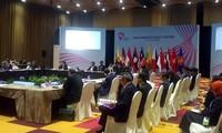 Apertura de la Conferencia de altos funcionarios de la Asean en Singapur