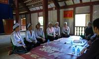 Canto hablado, una actividad cultural-espiritual singular de los Muong