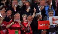Oficializan la candidatura de Lula da Silva a la presidencia de Brasil pese a su condena