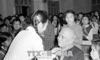 Conmemoran el nacimiento del presidente Ton Duc Thang en su tierra de origen