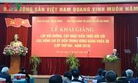 Exhortan a los funcionarios y militantes del Partido Comunista de Vietnam a un constante estudio
