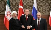 Rusia, Irán y Turquía planean celebrar cumbre sobre Siria en septiembre