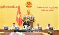 Inauguran nueva sesión del Comité Permanente del Parlamento vietnamita