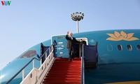 Finalizan con éxito visita del máximo líder político de Vietnam a Hungría