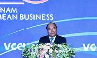 Inauguran Cumbre Empresarial de Vietnam