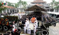 Se despiden del presidente Tran Dai Quang