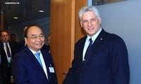 Primer ministro Nguyen Xuan Phuc sostiene encuentros bilaterales en Nueva York