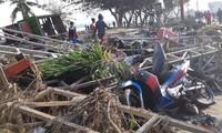 Terremoto y tsunami causan casi 400 muertos en Indonesia