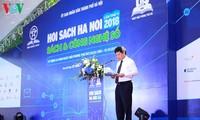 Inauguran Feria de Libros Hanói 2018