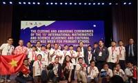 Estudiantes vietnamitas logran excelentes resultados en Olimpiada Internacional