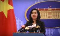 Vietnam reitera su respeto a la libre navegación en el mar y su soberanía en islas