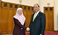 Vietnam y Malasia proyectan elevar el comercio bilateral a 15 mil millones de dólares